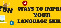 Fun ways to improve your language skills