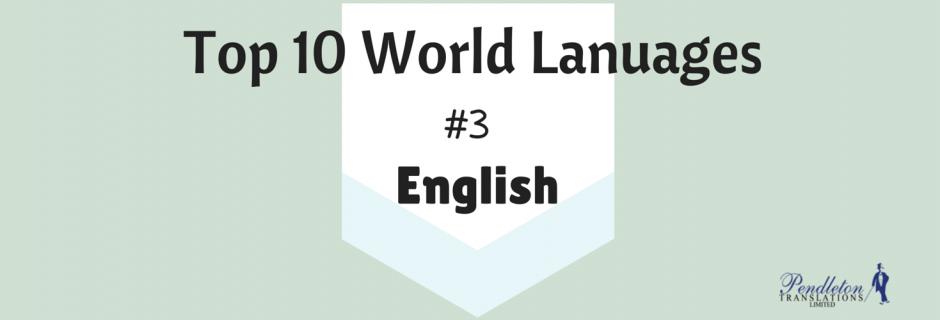 World Languages: English