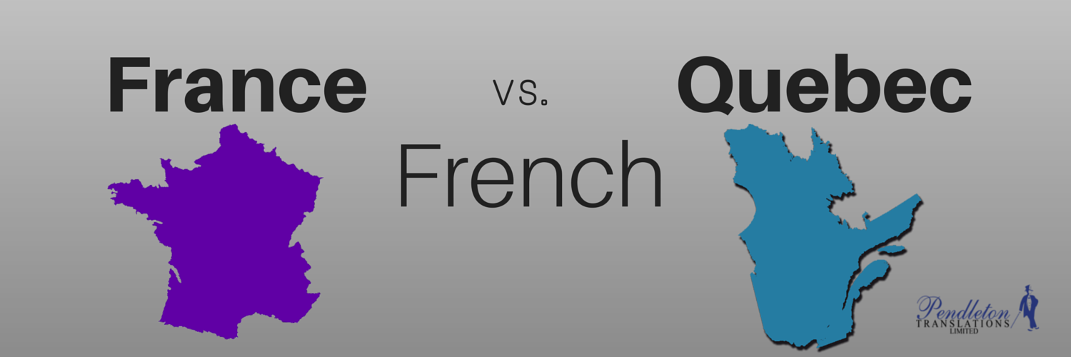 france french vs  quebec french