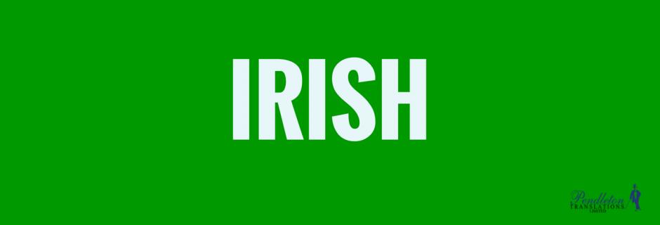 Irish Language