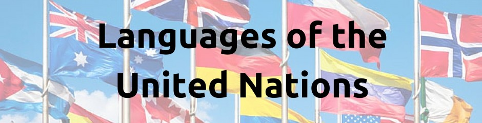 Languages of the United Nations